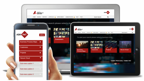 Sungard Process Library mobile devices