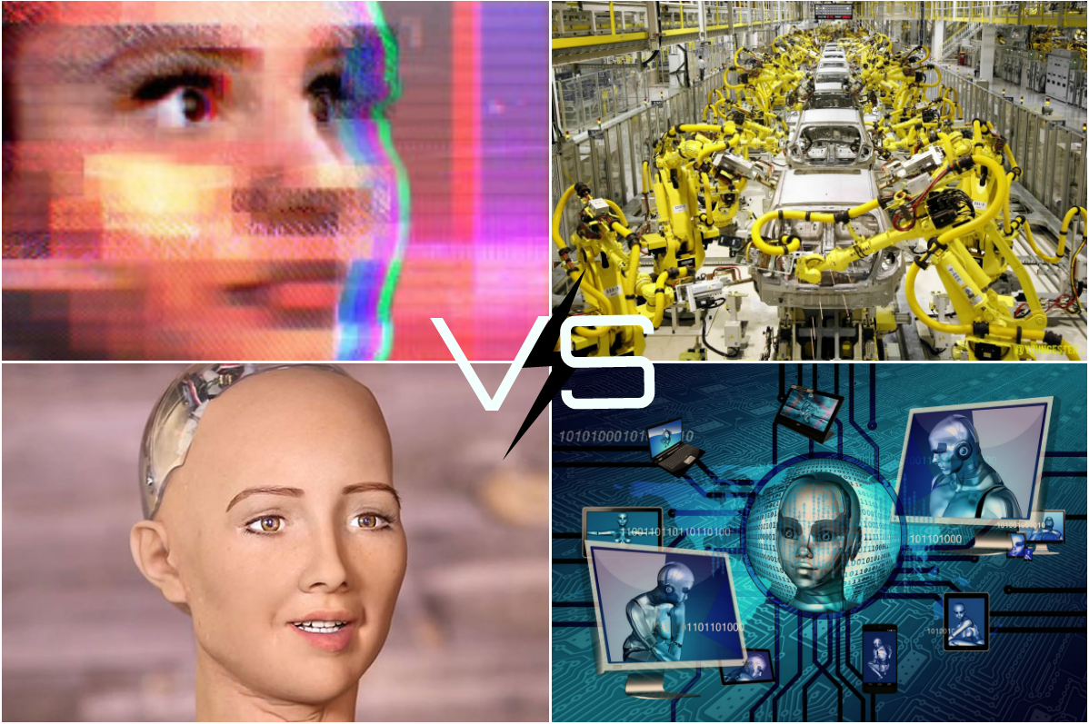 Advanced Robots vs Advanced AI and Their Impact on a Process