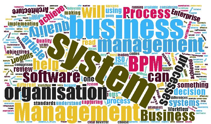 Business Process Management vs Quality Management vs Enterprise Architecture vs Workflow Management