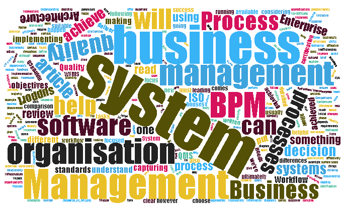 Business Process Management vs Quality Management vs Enterprise Architecture vs Workflow Management