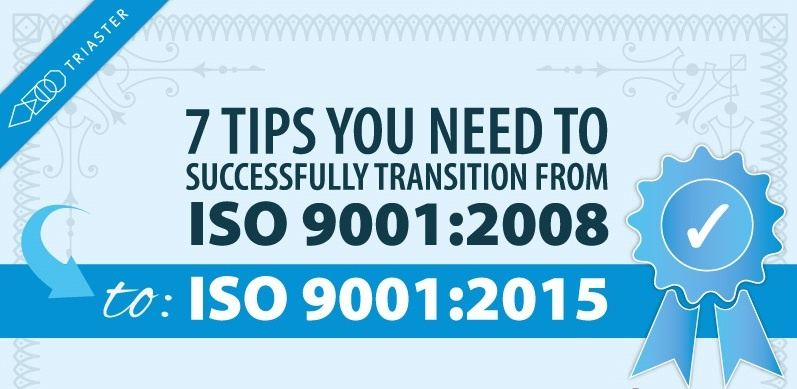 7 Useful Tips to Transition to ISO 9001 2015 [Infographic]